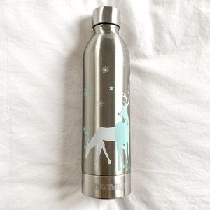 David's Tea stainless steel water bottle - 16oz